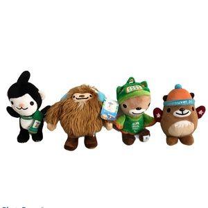 Vancouver 2010 Winter Olympics Mascot Stuffies